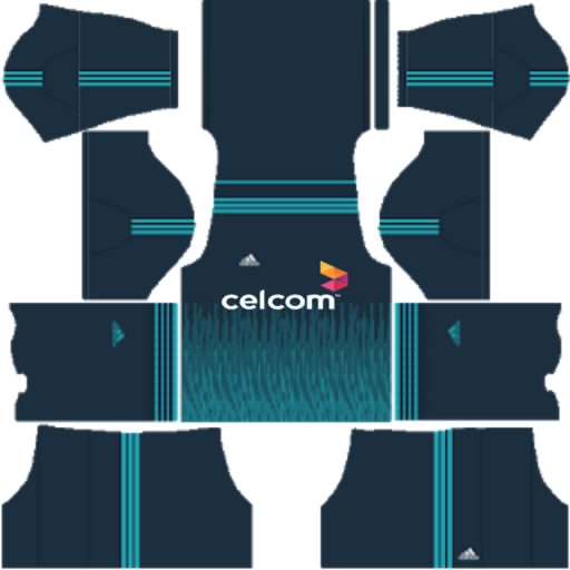 Adidas Third kit for Dream League soccer 2020 celcom kits