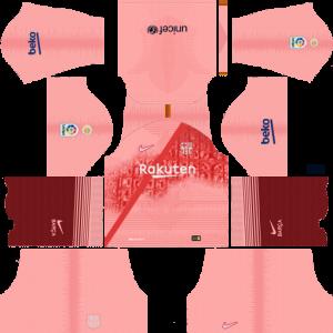 custom Third Barcelona FC kit for Dream League Soccer