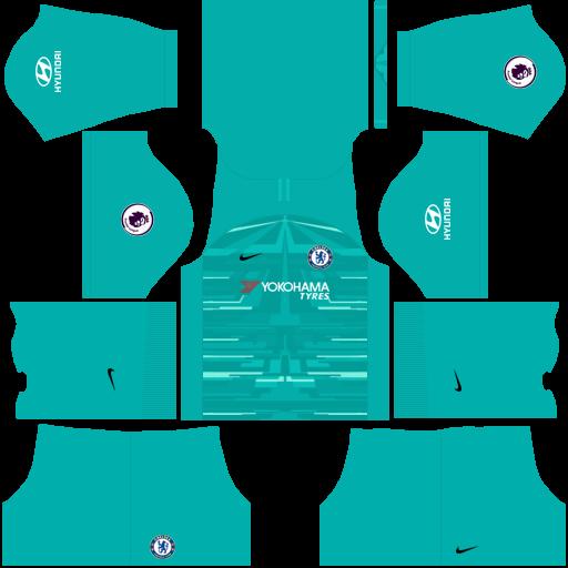 dream league soccer  goalkeeper chelsea away kit for DLS 2020/2021