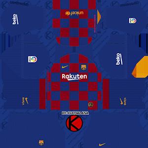 dream league soccer fc barcelona home kit url 2020