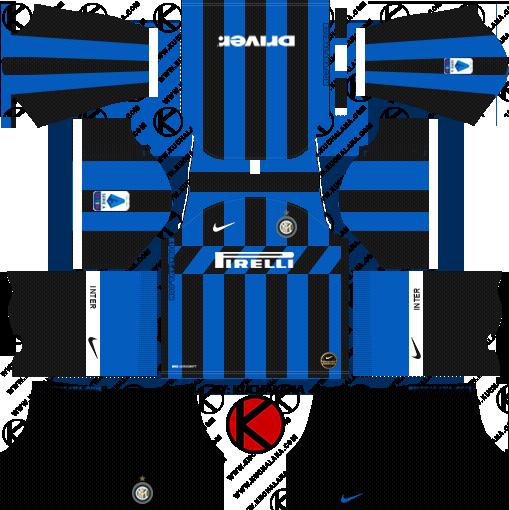 dream league soccer home kits url inter milan 2020