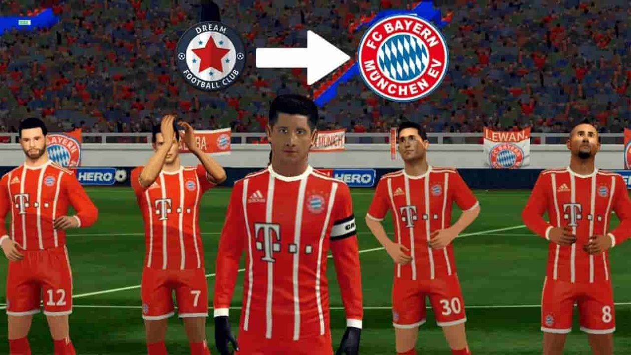 All Dream League Soccer Bayern Munich Kits and logo URL 2019