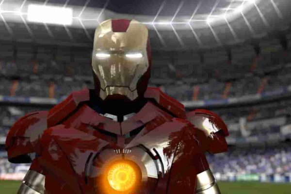 Dream League Soccer Iron Man kits URL and logo for 2019/2020 DLS kit