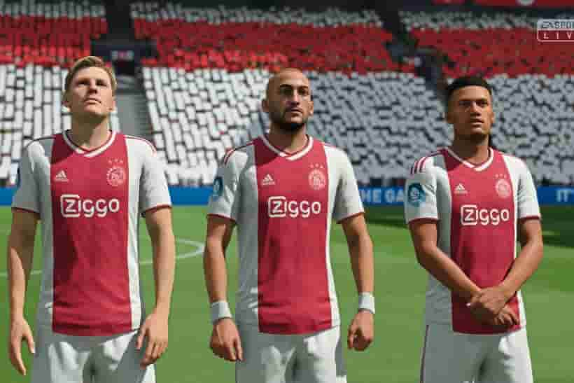 Dream League Soccer Ajax Amsterdam kits and logo URL 2020 with home, away, third DLS kit