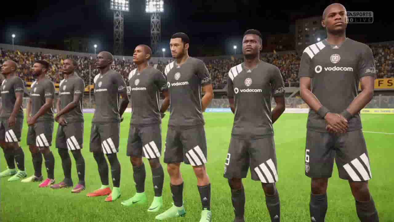 Orlando Pirates kit and logo url for Dream League Soccer 2019/2020