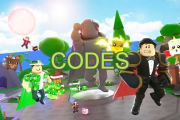Roblox Super Hero Masters All Codes List