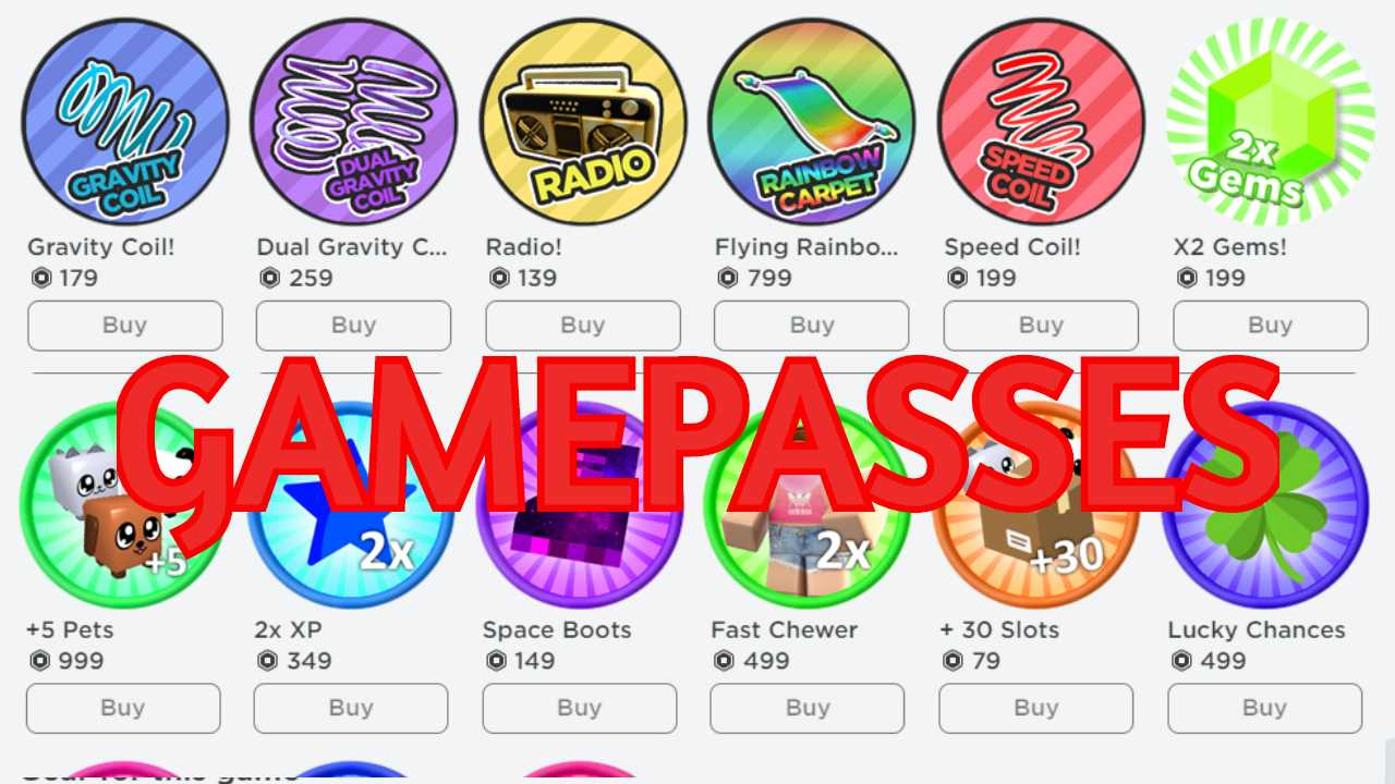 Best Roblox Gamepass Ideas List For Your Game 2020 Quretic