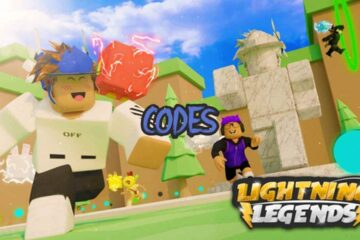 Roblox Lightning Legends All Codes List