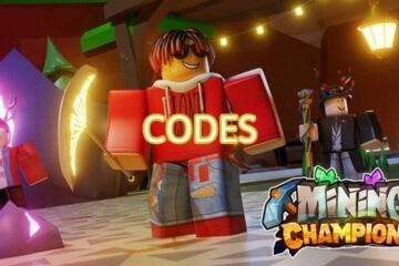 Roblox Mining Champions All Codes List