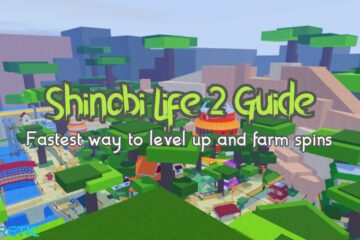 Fastest Way to Level Up and Farm Spins in Shinobi Life 2