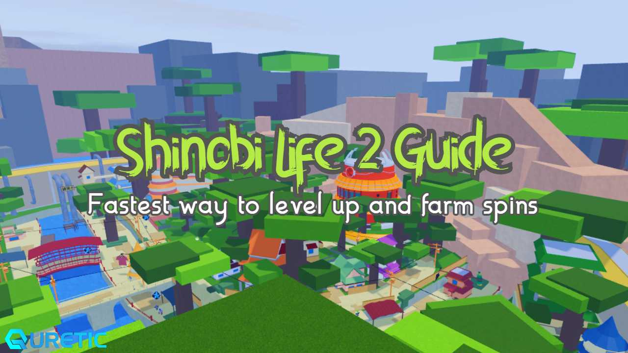The Fastest Way To Level Up & Farm Spins In Shindo Life ...