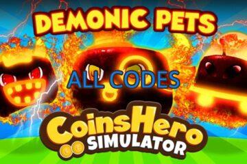 Roblox Coins Hero Simulator All Codes List