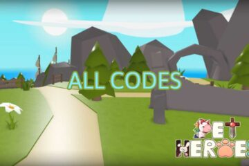 Roblox Pet Heroes All Codes List