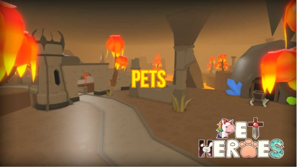 Roblox Pet Heroes All Pets with Stats List
