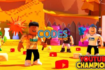 Roblox YouTube Champions All Codes List