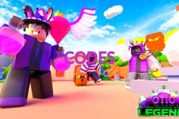 Roblox Potion Legends All Codes List