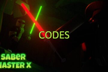 Roblox Saber Master X All Codes